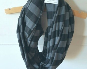 Breastfeeding Cover Plaid Scarf - Infinity Nursing Scarf - Nursing Scarf - New Mom Gift - Mothers Day Gift - Baby Shower