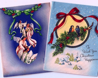 Vintage Christmas Cards ~ C11