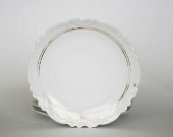 vintage carlsbad austria plates shabby chic set of six
