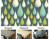 For Christine 4 yards of Dewdrop Storm laminated cotton