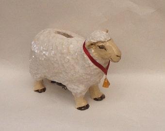 White Sheep Coin Bank No. 2