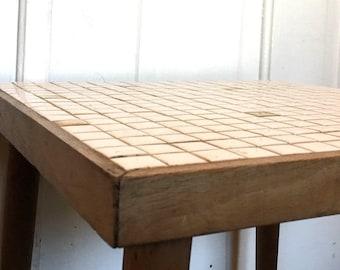 Mid Century Modern Tile Top Table