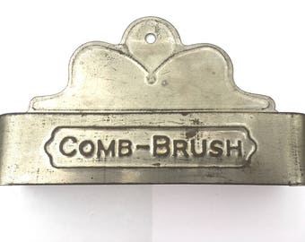 Antique Comb or Brush Holder