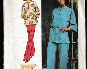 Simplicity 6469 Misses' Super Jiffy® Pullover Top and Pants