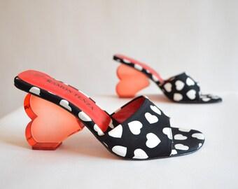Vintage ROMAN TENZA resin heels
