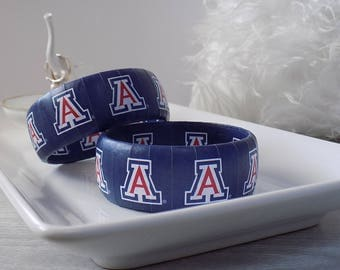 Arizona Wildcat Bracelet - Bear Down Jewelry - Graduation Gift - College Bracelet - Arizona Wildcats - Officially Licensed Jewelry