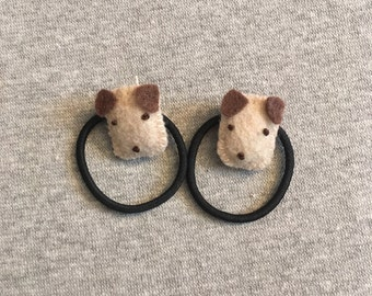 Puppy Pony Tail Holders