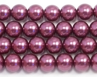 10mm Wine Glass Pearls 5 pieces