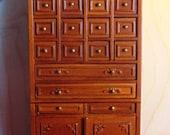 Vintage Bespaq multi drawer cabinet