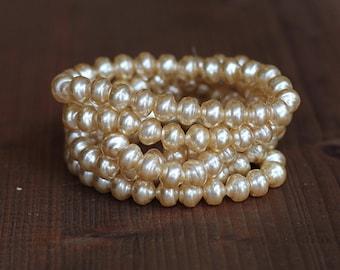 10mm Czech Baroque Pearl