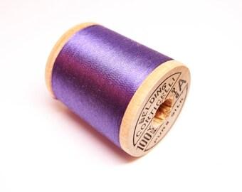 Brand New-Vintage Belding Corticelli Silk Thread Spool-Vintage Purple Belding Silk Sewing Thread-Vintage Wooden Silk Thread Spool-Shade 8953
