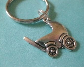 Baby Buggy - Key Ring