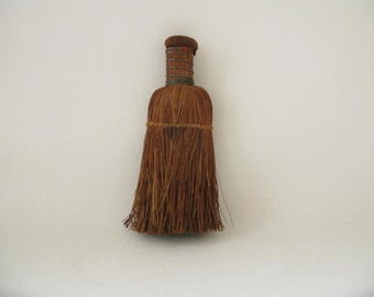 Vintage Whisk Broom, wire, small, whisk
