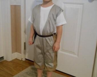 Rey Starwars inspired costume size 1 years thru 6 years