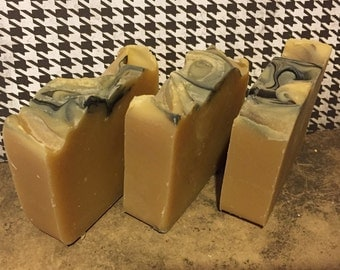 Smoke & Arrogance Handmade Lye Soap with Shea Butter and Olive Oil Handmade Soap Scented Soap Moisturizing Gentle Artisan Soap
