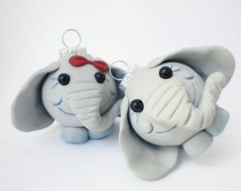 Elephants Mini Ornaments