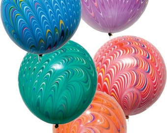 "Swirl Balloons 18"" Biodegradable-per balloon"