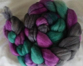 "Our Special Blend Hand Dyed BFL/Silk 4 Oz ""Misty Ridge"""