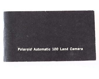 Owner manual for Polaroid Automatic 100 instant camera