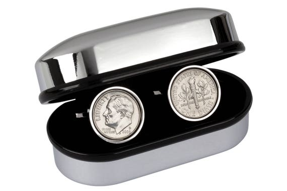 12 Year Wedding Anniversary Gifts: 12 Year Wedding Anniversary Gift 2005 Min Coin Cufflinks