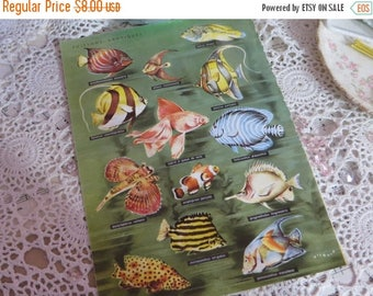 Going Out Of Business Reference-Audubon-Book Plates-FISH