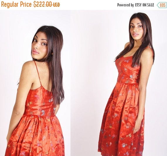 Asian Cocktail Dress