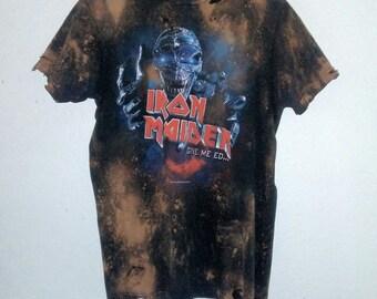 Iron Maiden TShirt / Band Shirt / Graphic / Rocker Tee /Distressed / Indie / Grunge / RockNRoll / Heavy Metal / Unisex / Women / Men / Guys