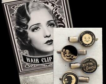 Ouija Matchbox Hair Clip set