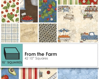 Layer Cake From The Farm by Maywood Studios 42 Precut 10 Inch Fabric Squares Last One