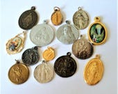 14x Mixed Catholic Religious Charms