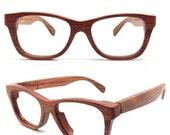 Black Friday ON SALE TAKEMOTO Handmade Walker2012 Red Rosewood Eyeglasses prescription Glasses Sunglasses