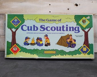 1987 Cadaco The Game of Cub Scouting