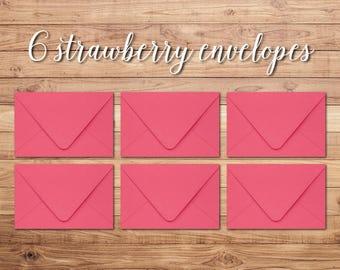 Envelope Pack - Strawberry