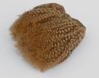 Mohair Weft -Blond Bebe Curl- Doll Making Wig Supply