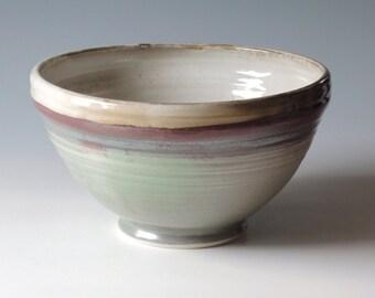 Large Handmade Pottery Bowl.  Pottery Mixing Bowl.  Pottery Bowl.