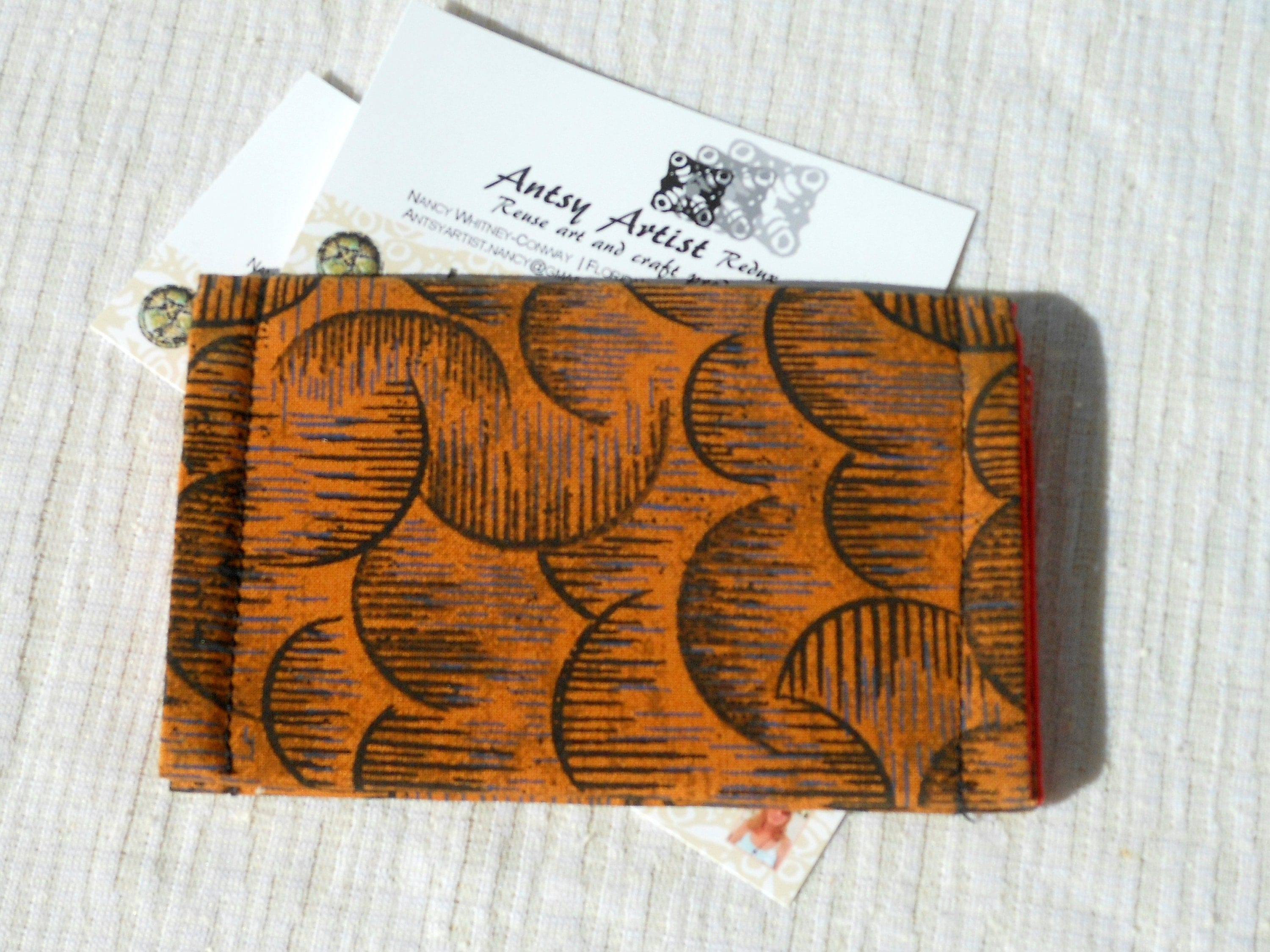 mod id wallet business card case t card holder reuse earth