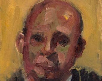 Oil Sketch 12, Small Painting