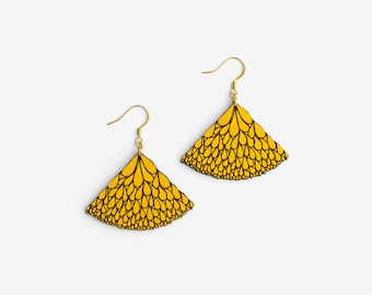 ABANICO YELLOW, Leaves Collection by Materia Rica