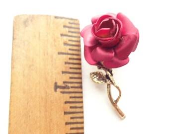 Vintage Little Rose Tack Pin