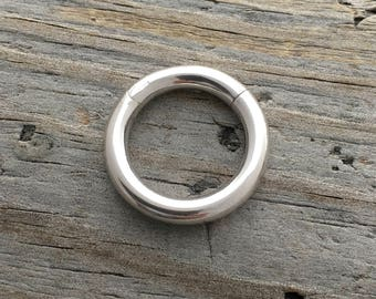 Sterling Silver Clasp Hinged Ring Clasp 3 Sizes Sterling Silver Jewelry Findings Sterling Silver Jewelry Supplies