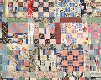 Antique Cutter Quilt Top