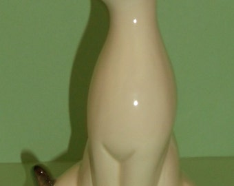Vintage Ceramic Siamese Cat Figurine- Choice Imports Japan