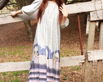 Beautiful Hippie Goddess Dress OS