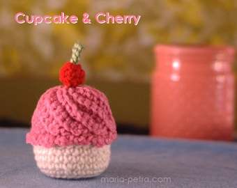 Cherry Topped Cupcake  > Home > Office > Decoration > Toy