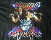 Vintage 90's LYNYRD SKYNYRD concert tour motorcycle biker trucker T Shirt XL