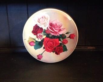 Vintage Rose Tin