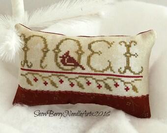 Primitive Noel Cardinal Pillow Tuck