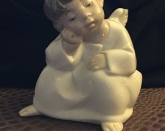Lladro angel child