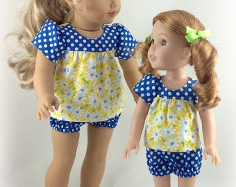 Sisters Set To Fit 14.5 and 18 inch Dolls