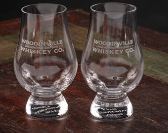 Woodinville Whiskey Co. Glasses, Set of 2